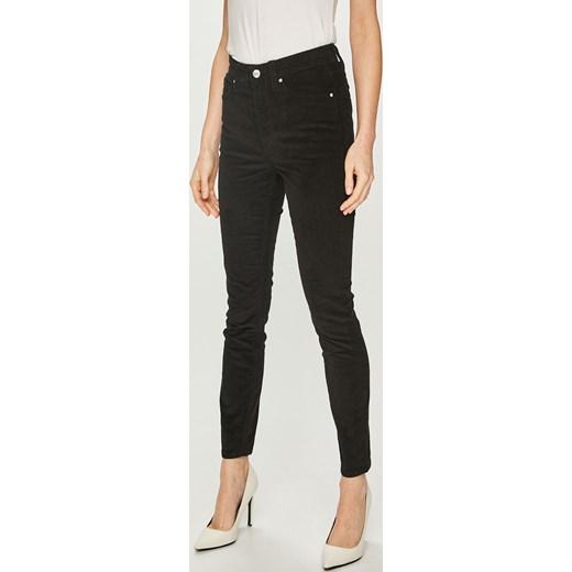 4c1c51d22e242 Calvin Klein spodnie damskie czarne w Domodi