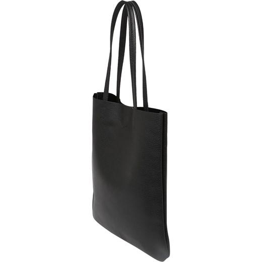 2249e8de1d843 ... Shopper bag Even Odd skórzana mieszcząca a6 bez dodatków na ramię  Shopper  bag Even Odd matowa ...