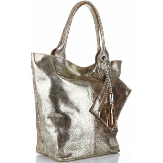 ae33bc71680ba4 Shopper bag Vittoria Gotti do ręki mieszcząca a8 z frędzlami w Domodi