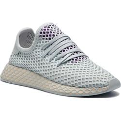new styles 15b75 99c20 Buty sportowe damskie Adidas do biegania w geometryczne wzory sznurowane ...
