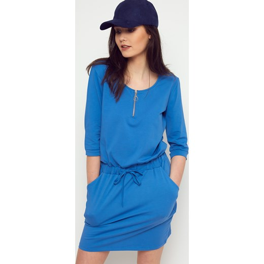 35f005b3 Sukienka Yups z długim rękawem z okrągłym dekoltem