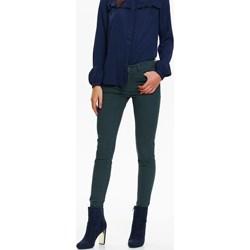 33ddd8bc0b Spodnie damskie Top Secret turkusowe bez wzorów