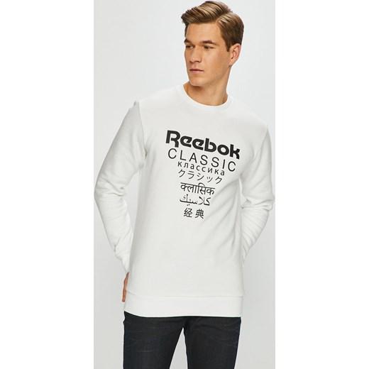 d1e002a627e36 Bluza męska Reebok Classic bawełniana biała w Domodi