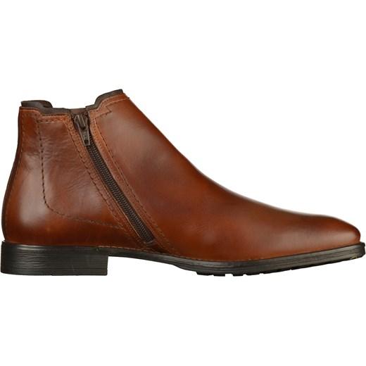 c75f4d3dd Brązowe buty zimowe męskie Camel Active z zamkiem w Domodi