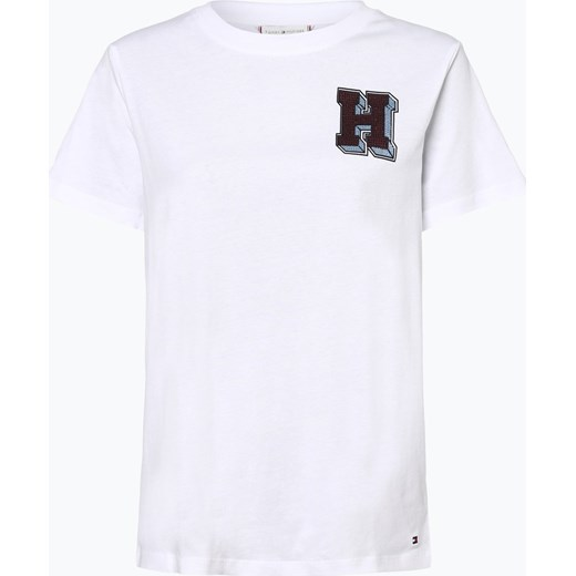 bb9f719f4 Tommy Hilfiger - T-shirt damski – Jessica, czarny Tommy Hilfiger XL vangraaf