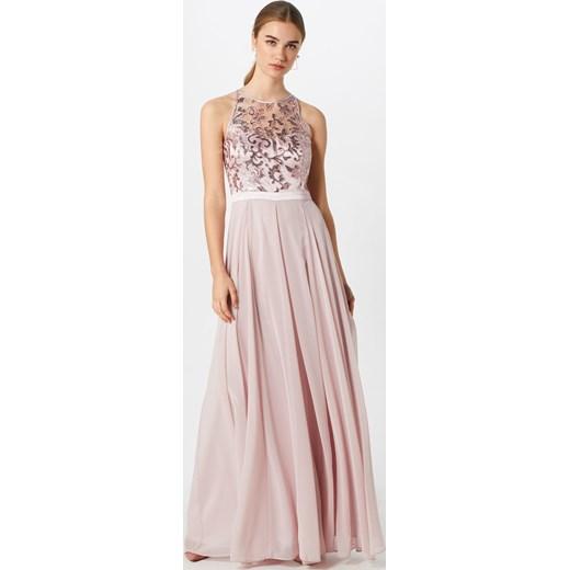 dfca7dda3d98 ... bez rękawów na bal maxi z okrągłym dekoltem  Sukienka Vm Vera Mont na  karnawał z okrągłym dekoltem elegancka ...
