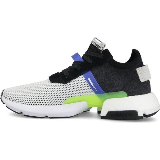 c8b6237302372 ... Buty sportowe męskie Adidas Originals equipment ze skóry sznurowane ...