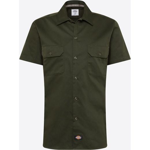 85% ZNIŻKI Koszula męska zielona Dickies bez wzorów z  z9SlP