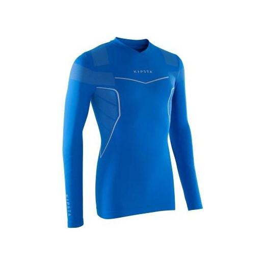 451c575db341 Podkoszulek Keepdry 500 Kipsta niebieski Decathlon w Domodi