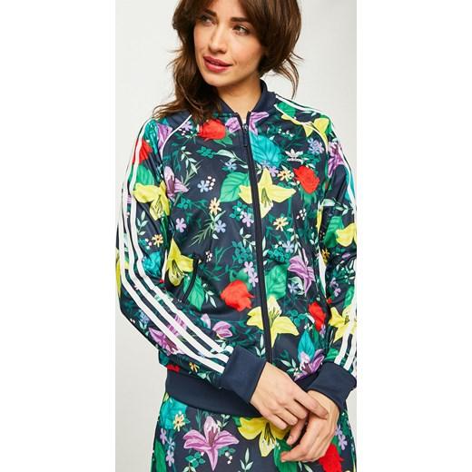 adidas bluza w kwiaty damską