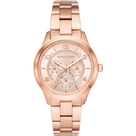 2decc89f0301a Złoty zegarek Michael Kors w Domodi