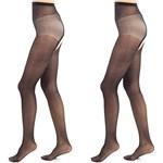 5a417f897a8447 elsayx otwartych kobiet kroki i połyskujące rajstopy 30denier - - zdjęcie  produktu