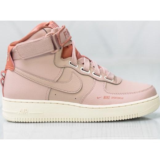 d9698017 Buty sportowe damskie Nike do biegania air force na płaskiej podeszwie
