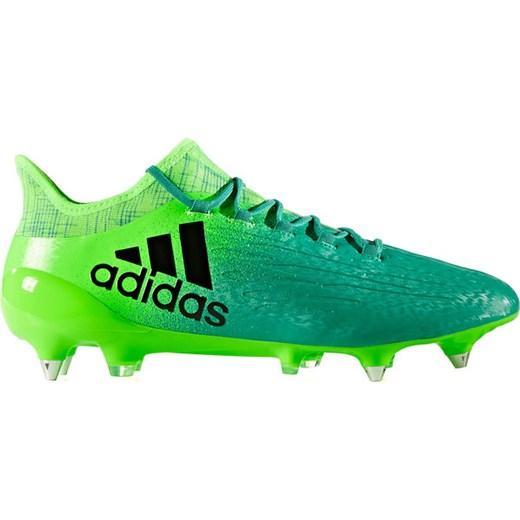 c087a647e4ac4 Buty piłkarskie korki X 16.1 SG Adidas (zielone) okazyjna cena SPORT ...