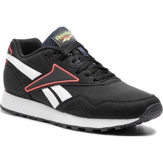 super słodki tani nowe tanie Buty sportowe męskie Reebok czarne z tworzywa sztucznego