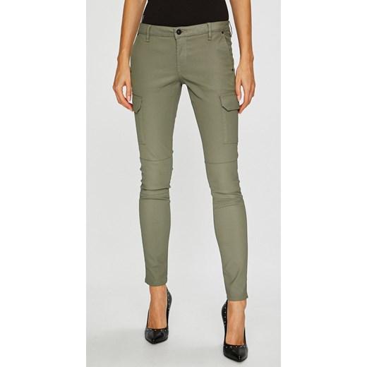ec272973a9c4a Spodnie damskie Pepe Jeans w militarnym stylu poliestrowe w Domodi