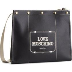 f65c961435906 Listonoszka Love Moschino średnia ze zdobieniami na ramię ...