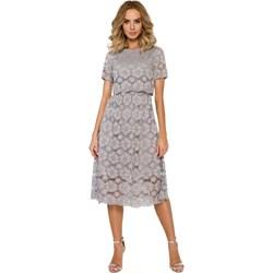 4beb07a3 Sukienka Moe midi z krótkim rękawem