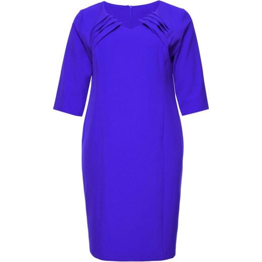 b8b56c8231 Sukienka midi dla puszystych w Domodi