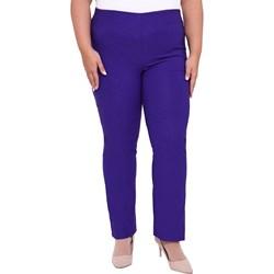 c6390fbe04 Niebieskie spodnie damskie modne duże rozmiary