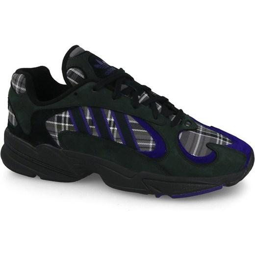 Buty sportowe męskie Adidas Originals zamszowe sznurowane na wiosnę