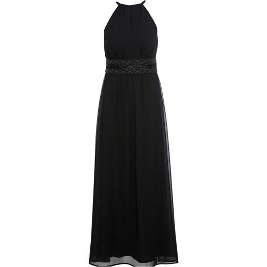 Sukienka BODYFLIRT na karnawał czarna maxi bez wzorów