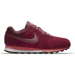 san francisco 28eef c6acd Nike buty sportowe damskie md runner czerwone z zamszu sznurowane
