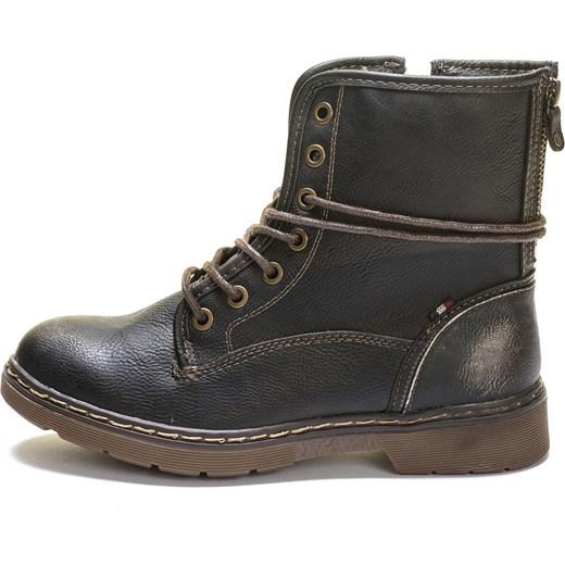Mustang buty za kostkę damskie 37 ciemnobrązowy, BEZPŁATNY ODBIÓR: WROCŁAW! Mall