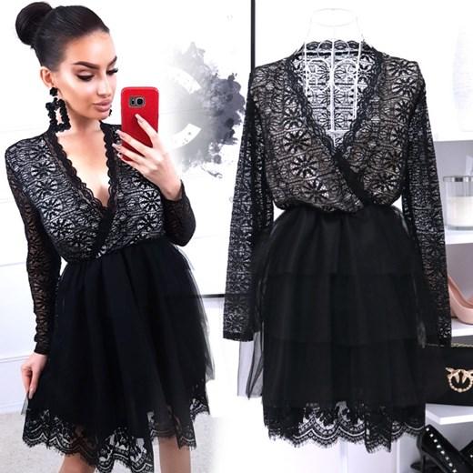426ffc0b60 Sukienka Magmac mini z długimi rękawami w Domodi