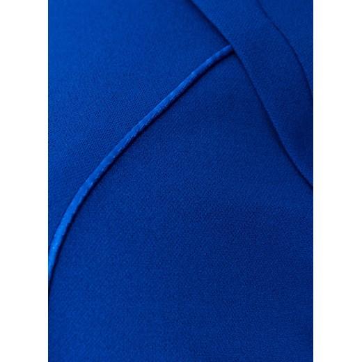cc6c56aac3 ... Rozmiary okazja  Chabrowa sukienka ze srebrną ozdobą 48 okazyjna cena Modne  Duże Rozmiary