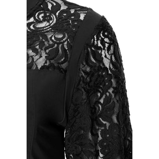 aef21d6b33c9b1 Czarna koronkowa tunika wieczorowa modne-duze-rozmiary czarny boho w Domodi