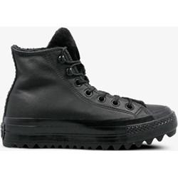 84694596 Czarne buty zimowe męskie Converse na zimę