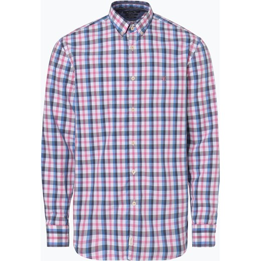 91d493eede5e Koszula męska Marc O Polo wielokolorowa w kratkę casualowa z długimi  rękawami