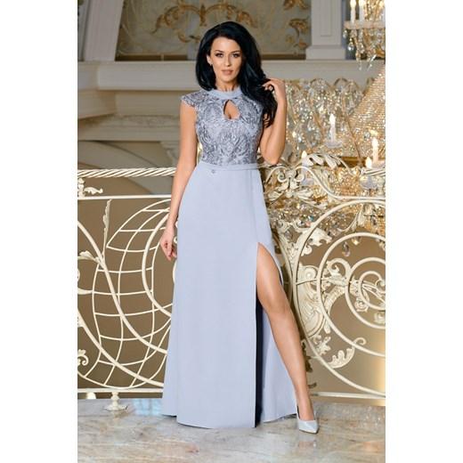 94d748e9b0 Sukienka Bico maxi na bal koronkowa w Domodi