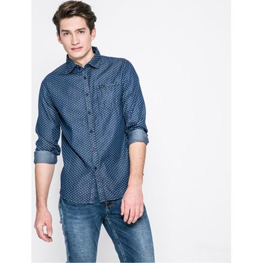 8c3f1b023f5d23 Koszula męska Guess Jeans z długim rękawem w Domodi