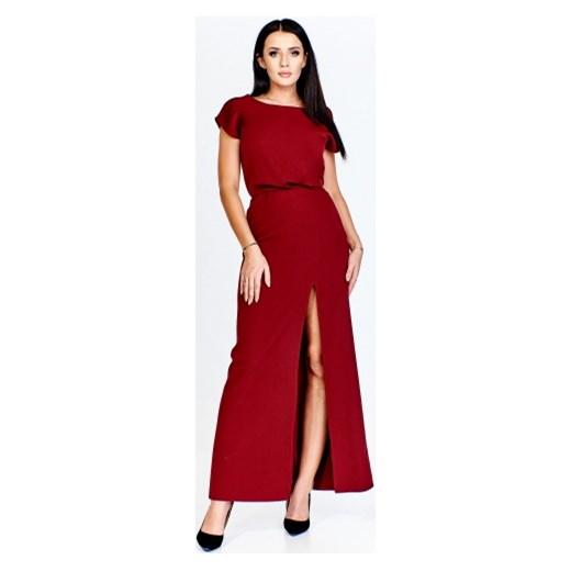 7a074d046c Sukienka Poker elegancka maxi w Domodi