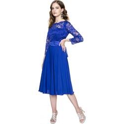 084d577a68 Sukienka L af z długim rękawem midi z okrągłym dekoltem na karnawał