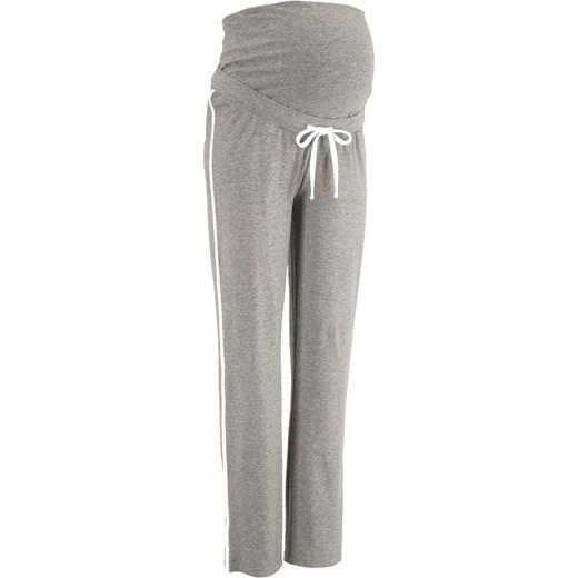 5a40ad5d Spodnie dresowe ciążowe BPC Collection szary bonprix