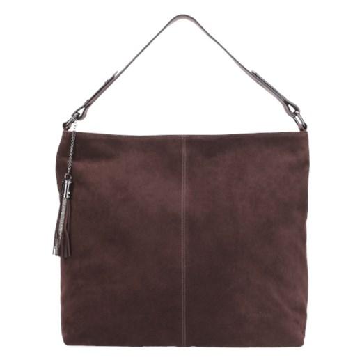 3a75d901 Wojas shopper bag czerwona skórzana duża casualowa matowa w Domodi