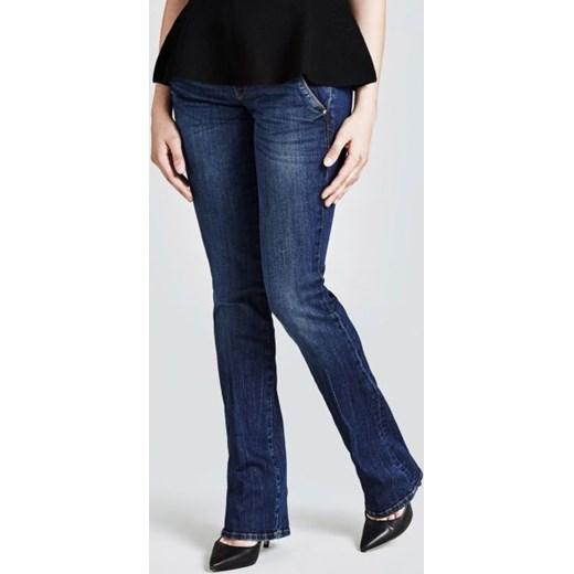 piękny Jeansy damskie Guess niebieskie w miejskim stylu Odzież Damska ES niebieski Jeansy damskie QFVM