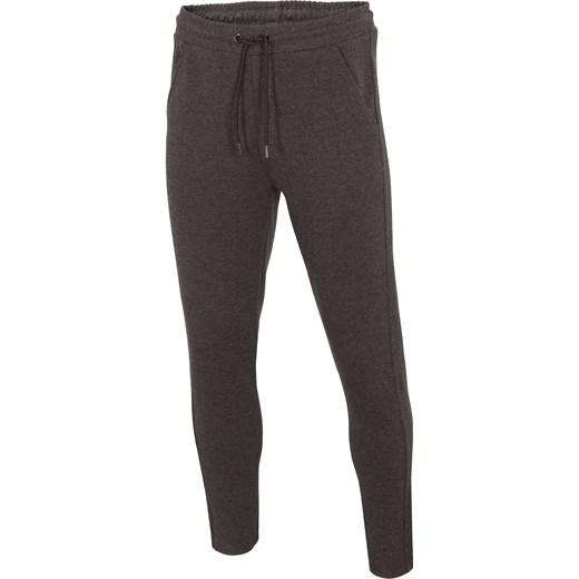 c5e3250863e7 Spodnie dresowe męskie SPMD302 - głęboka czerń melanż 3XL 4F