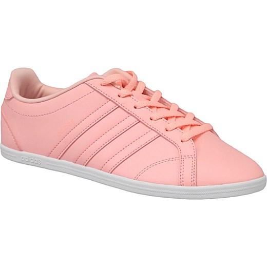 sprzedaż Trampki damskie Adidas bez wzorów skórzane sportowe