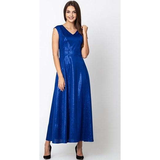 f2010341ec Sukienka Quiosque niebieska elegancka na karnawał w Domodi