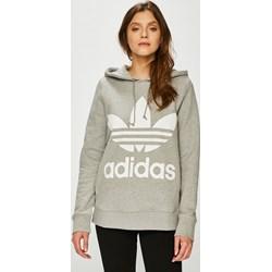 7930738b0b0e3b Bluza sportowa Adidas Originals z bawełny z napisem