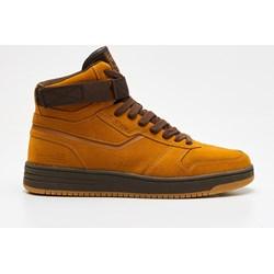 a25e5aded8d7d Żółte buty sportowe męskie Cropp sznurowane