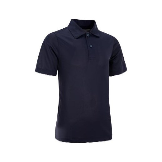 POLO ESSENTIEL JR GRANAT czarny Artengo Decathlon