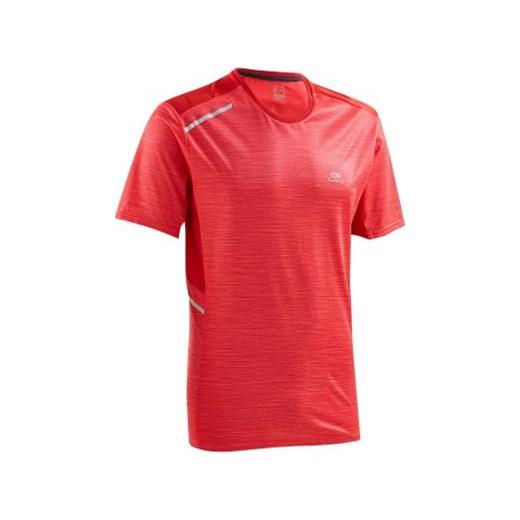 525e3a22a5b918 Koszulka RUN DRY+ czerwony Kalenji Decathlon w Domodi