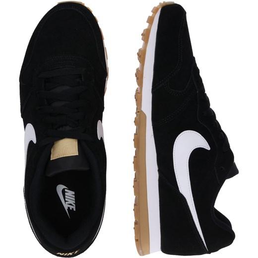 a31826a6 Buty sportowe męskie Nike Sportswear czarne ze skóry w Domodi