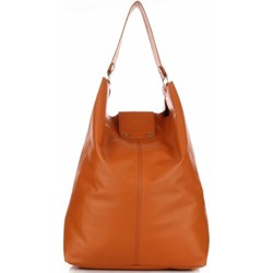 50ae9fda0aef3 Pomarańczowe torebki damskie duże na ramię