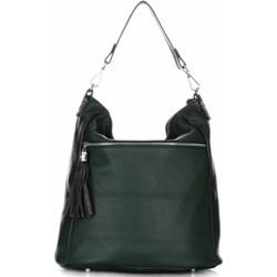 492bbcee6c517 Shopper bag Genuine Leather średniej wielkości matowa